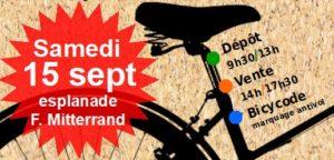 Bourse aux vélos : c'est la rentrée!