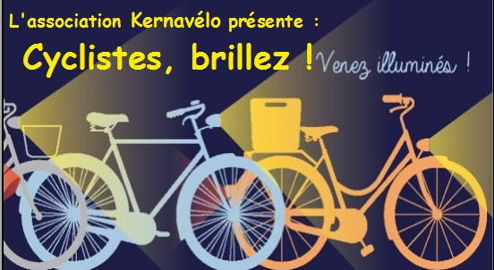 Cyclistes, brillez!